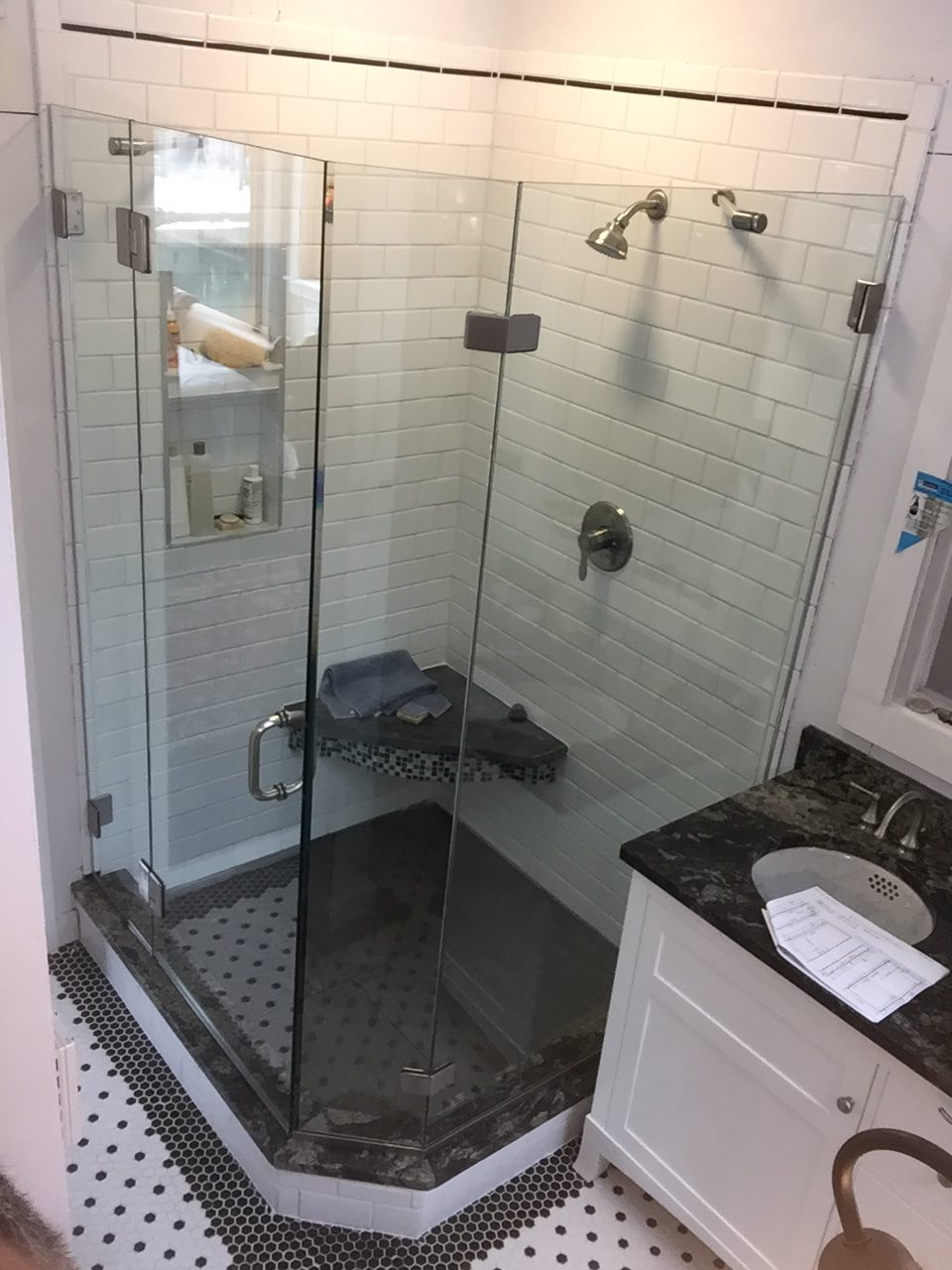 Custom shower and tub enclosures for Custom tubs and showers
