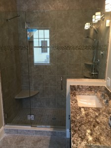 Custom Shower Enclosure